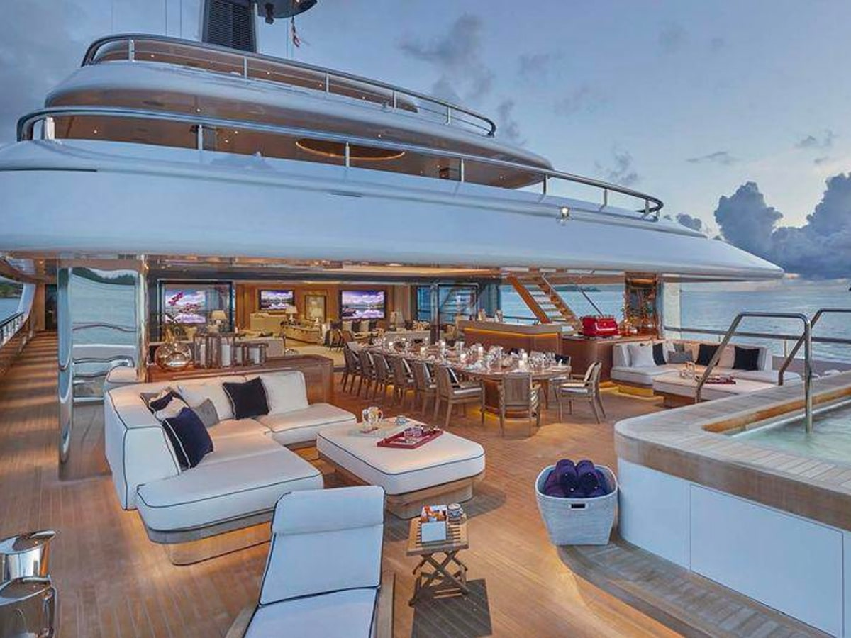 James packers superyacht ije