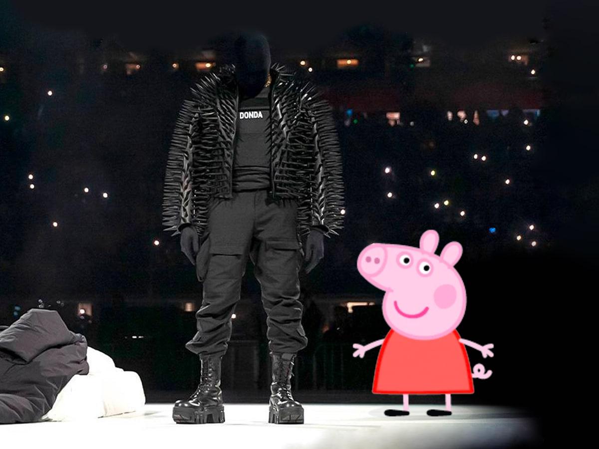 Kanye west peppa pig tweet 3