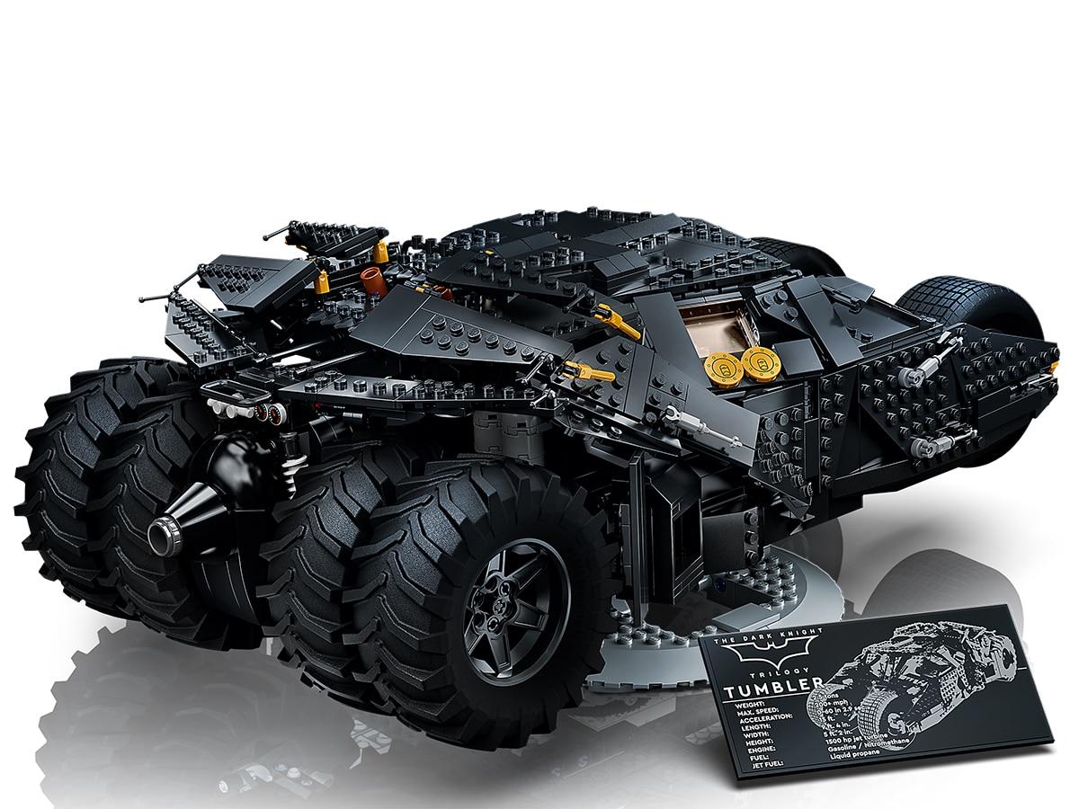 Lego dc batman batmobile tumbler 3