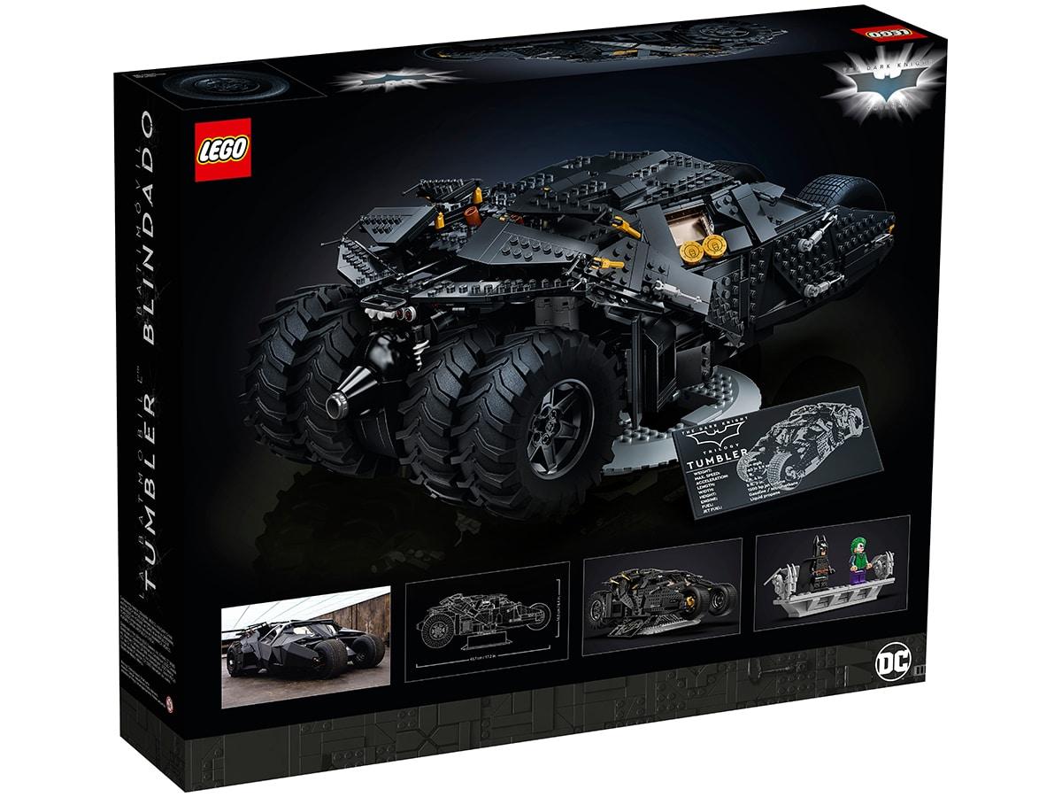 Lego dc batman batmobile tumbler 4