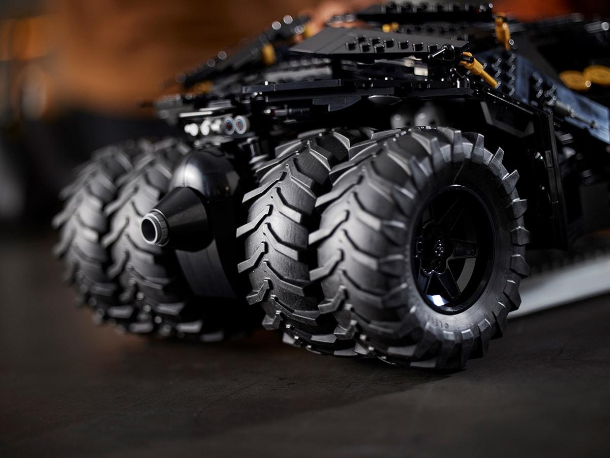 Lego dc batman batmobile tumbler 5