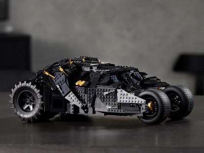 This LEGO Dark Knight Batmobile Tumbler Definitely Comes in Black