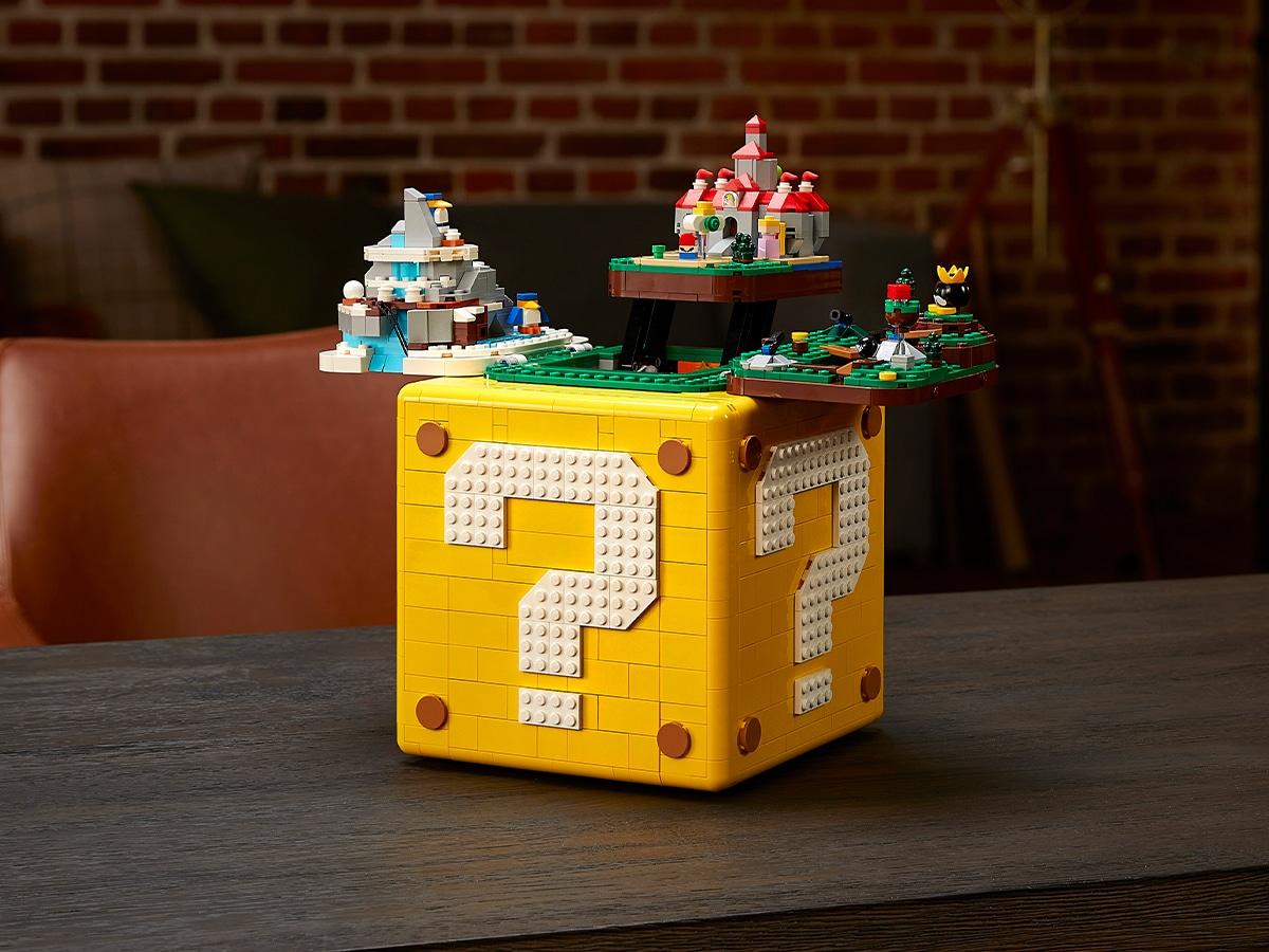 Lego super mario 64 block set