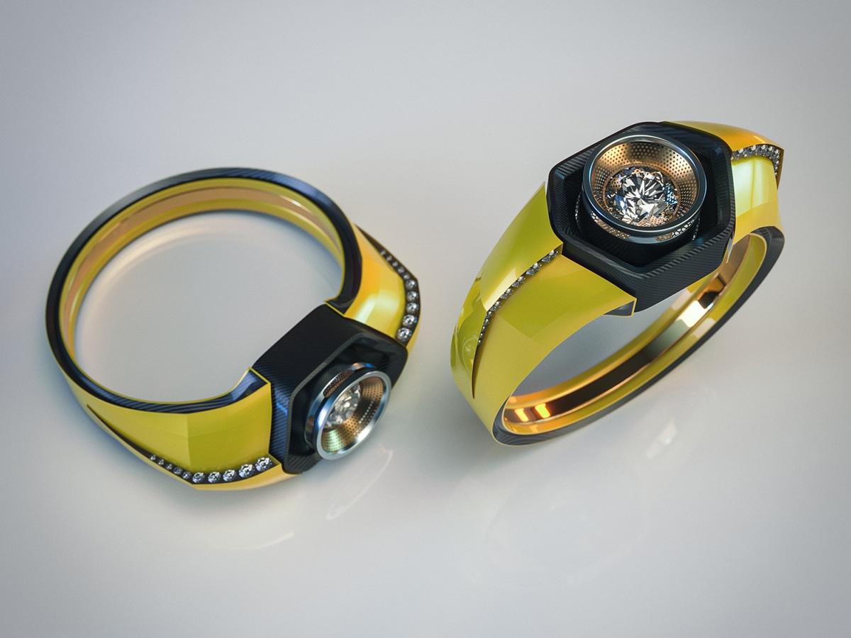 Lamborghini huracan ring