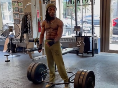 Lil Uzi Vert Breaks the Internet by Deadlifting Double His Weight in the Gym