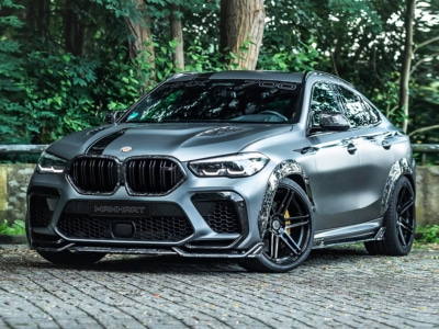 MANHART's BMW X6 Competition is a Fat 4.4-Litre Turbo V8 With 730HP