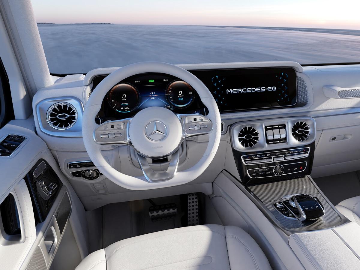 Mercedes benz concept eqg