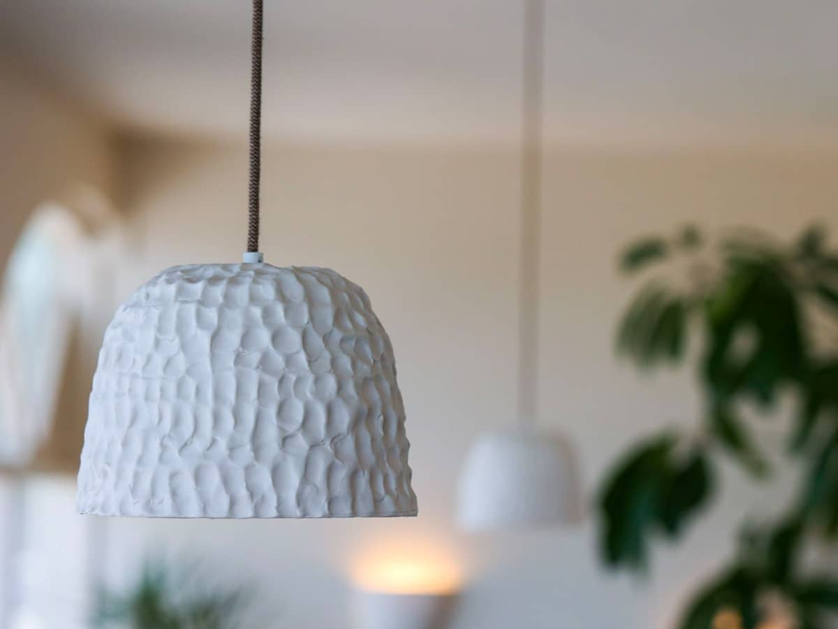 Milly dent hanging lamp
