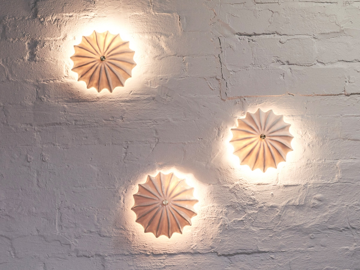 Milly dent wall lamps