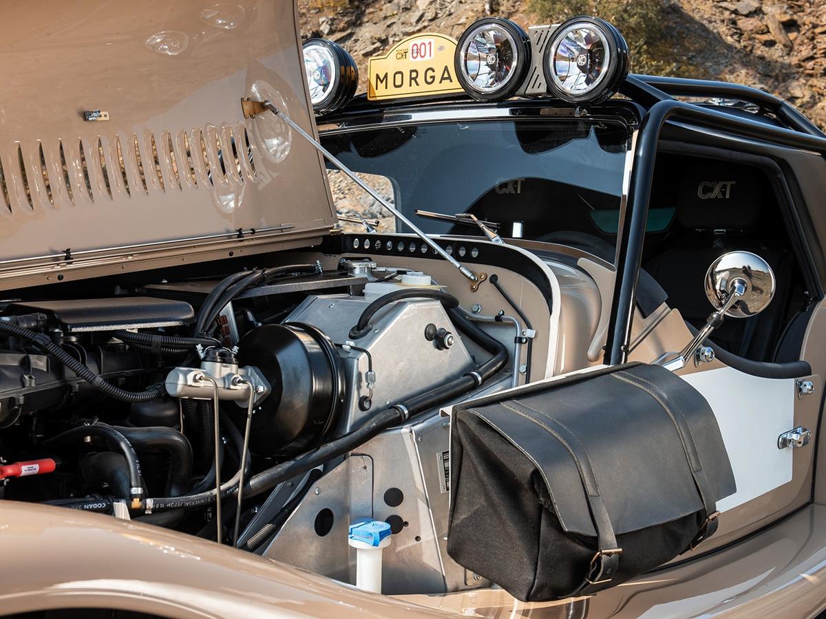 Morgan plus four cxt engine