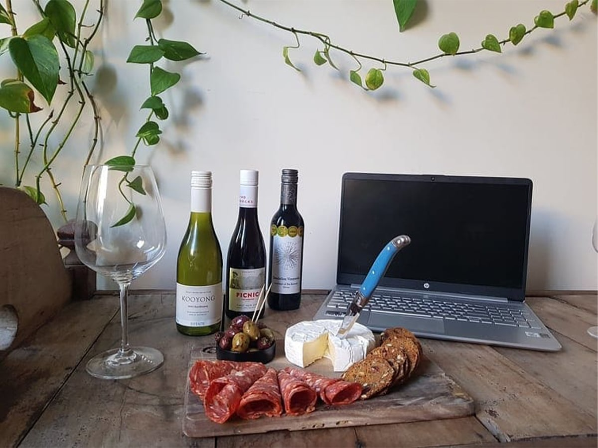 Not your average virtual wine tasting