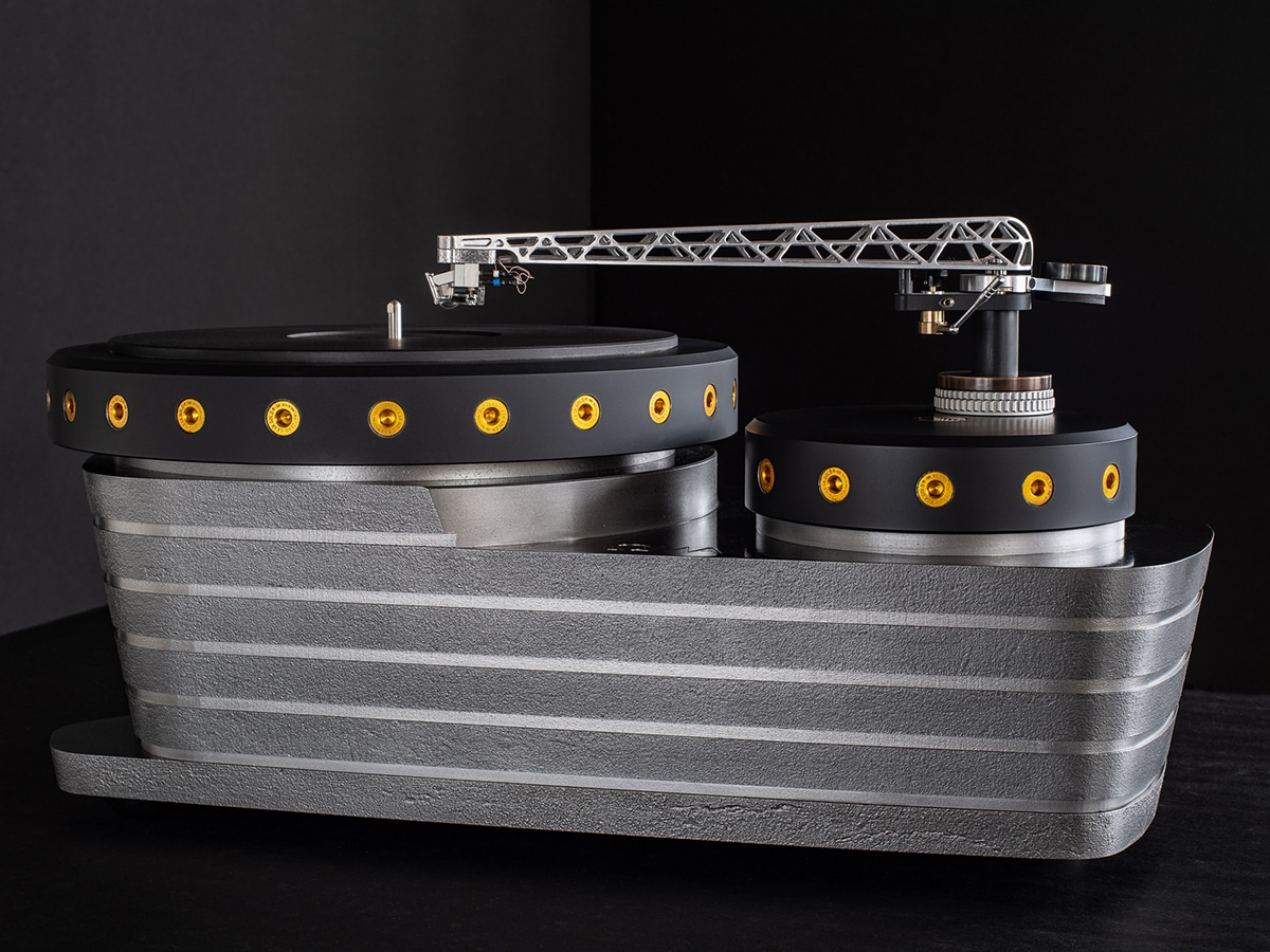 Oswald mill audio k3 turntable back view
