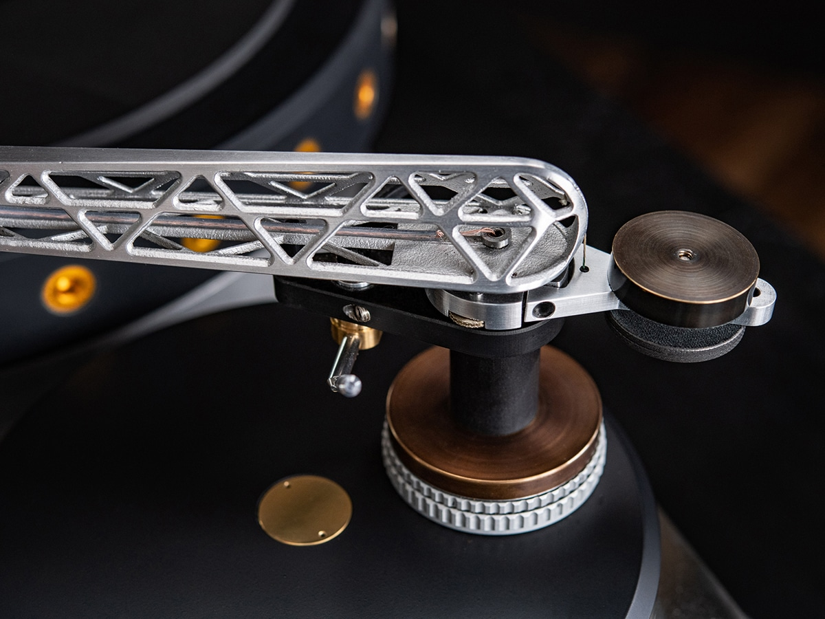 Oswald mill audio k3 turntable details