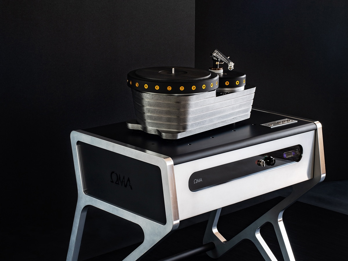 Oswald mill audio k3 turntable with quality and innovation.