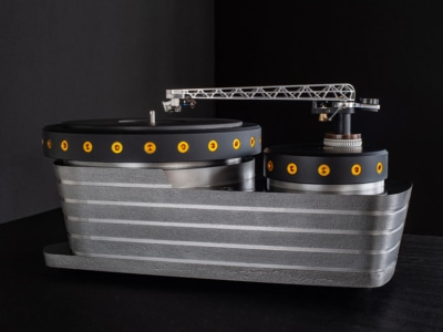 This Cast-Iron Oswald Mills Audio K3 Turntable is Built to Last