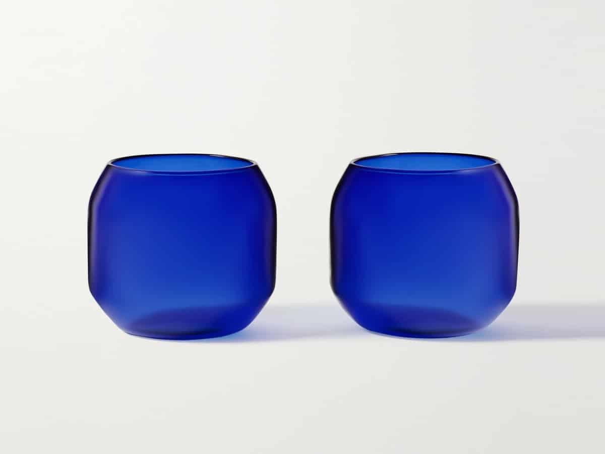 R d lab velasca acqua set of two glasses