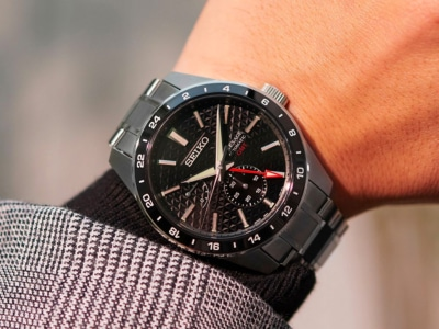 Seiko's Presage Sharp Edged Series Welcomes Four GMT Models