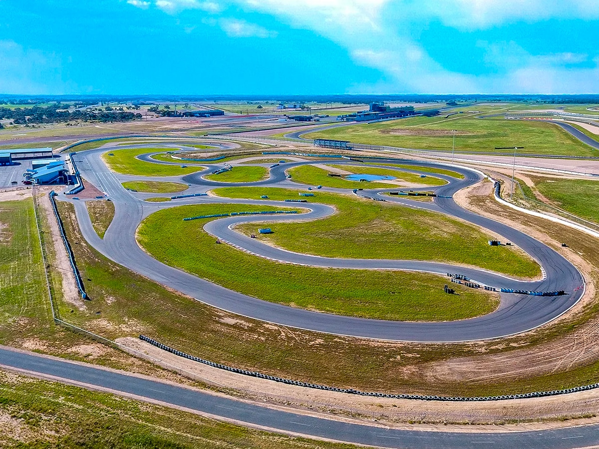 The bend kartdrome 1