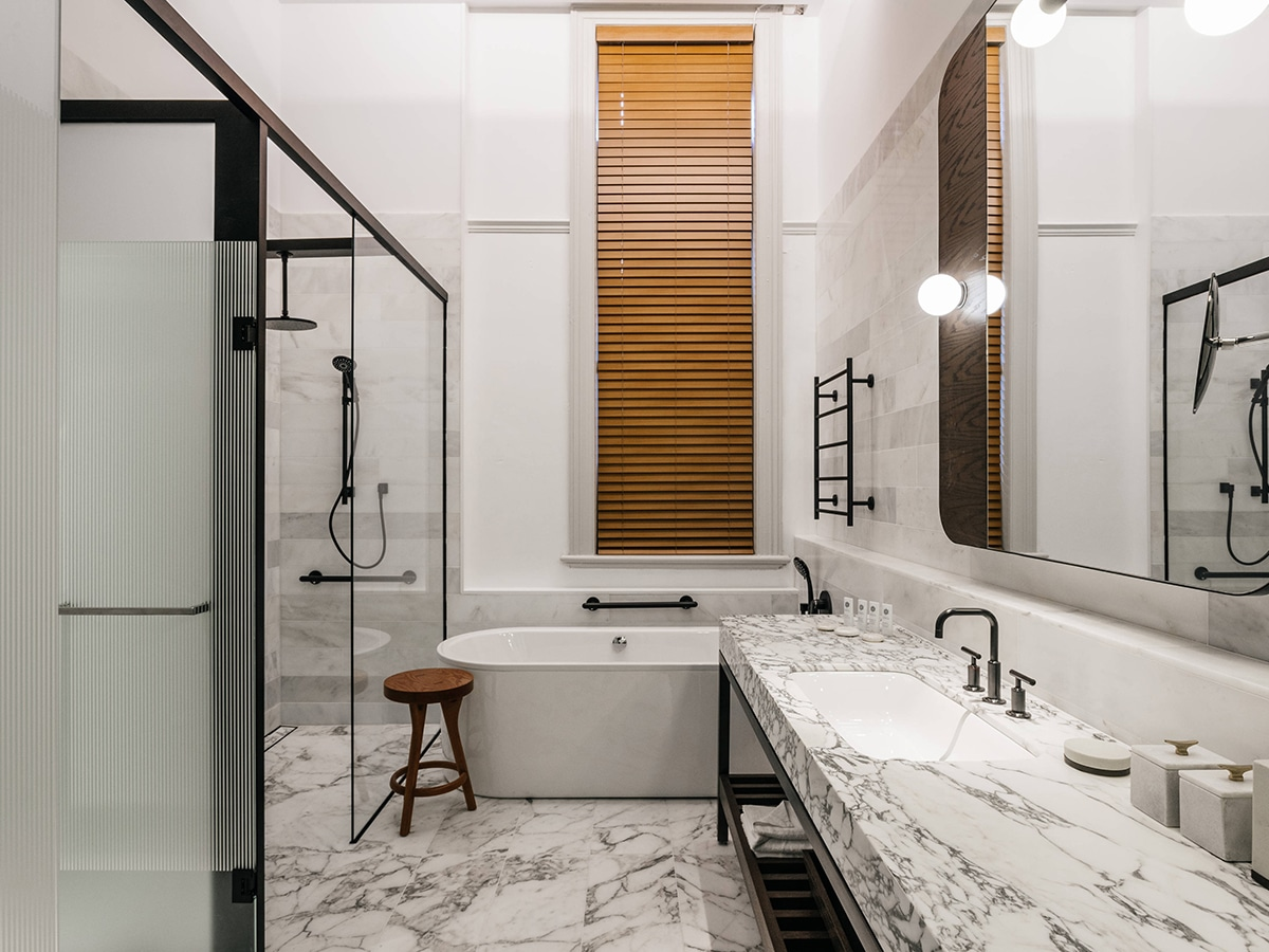 The luxury collection by marriott international bathroom
