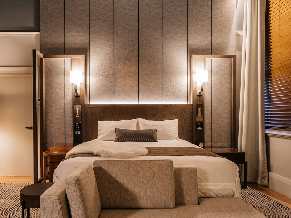 The luxury collection by marriott international bedroom