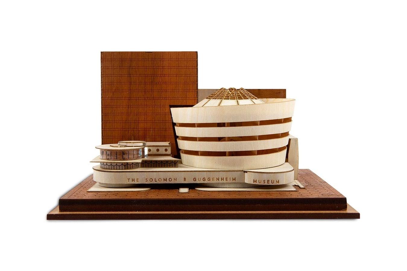 guggenheim museum model kit