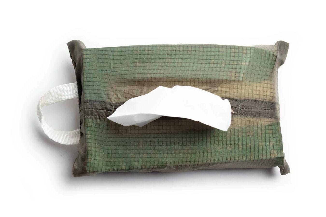 vintage parachute tissue cover