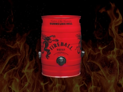 Make Some Poor Decisions with This 5-Litre Fireball Keg