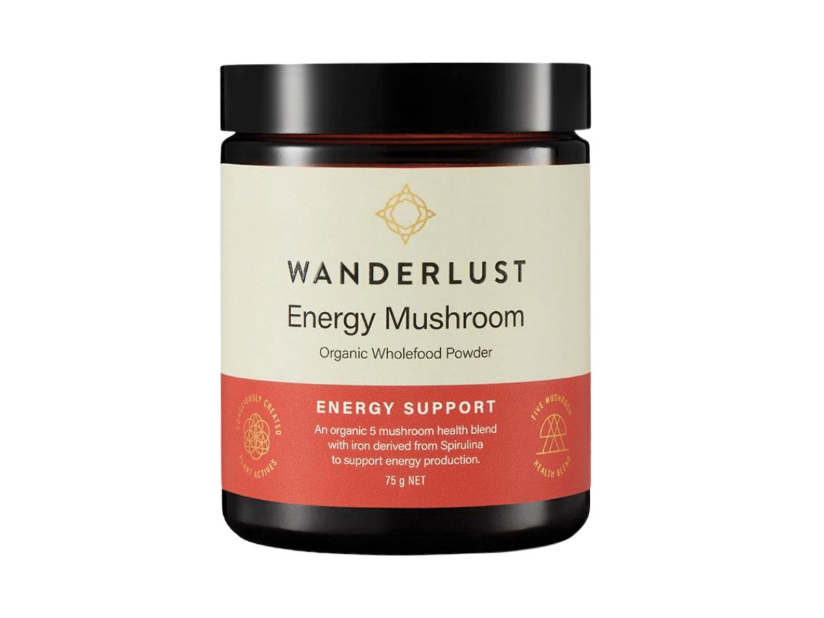 Wanderlust Mushroom Energy Support