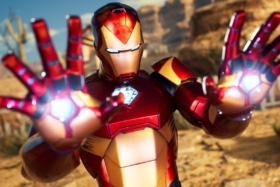 Midnight suns iron man screen