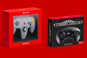 N64 and Sega Genesis Wireless Controller