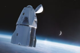 Spacex cupola window