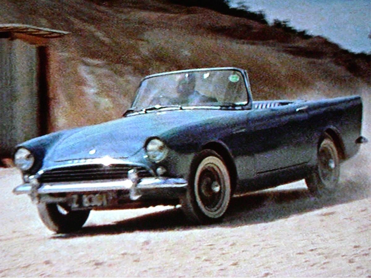 1961 sunbeam alpine series ii