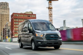 2022 ford e transit front end