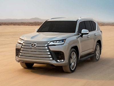 2022 Lexus LX 600 Crowned Title of 'Worlds Largest Grille'