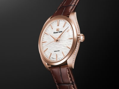 $57,000 Grand Seiko Spring Drive Captures the Beauty of Japanese Winter