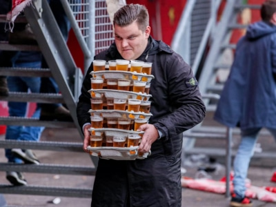 Lord of the Schooner Carry: Dutch Football Fan Puts on a 48 Beer Clinic