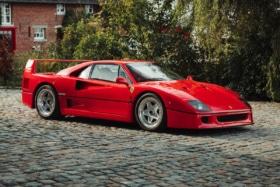 Ferrari f40 berlinetta auction 4