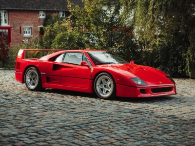 Ultra-Rare 1989 Ferrari F40 Berlinetta Sells for $2.9 Million