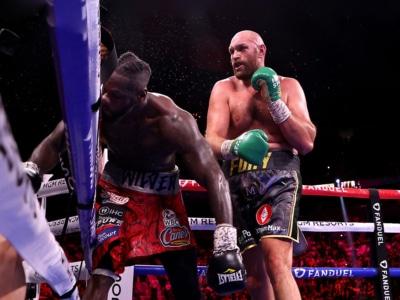Watch Tyson Fury Destroy Deontay Wilder in an All-Out Slugfest