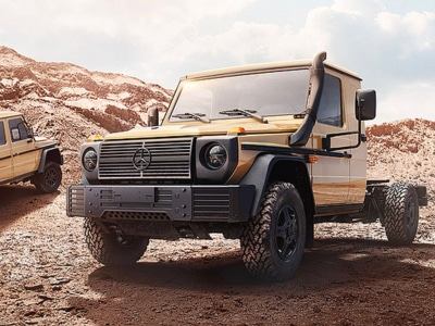 The Next Gen Mercedes-Benz G-Wagon is Made for the Military