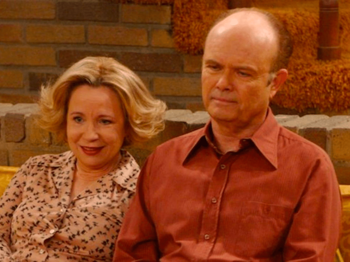 Kitty and Red Forman