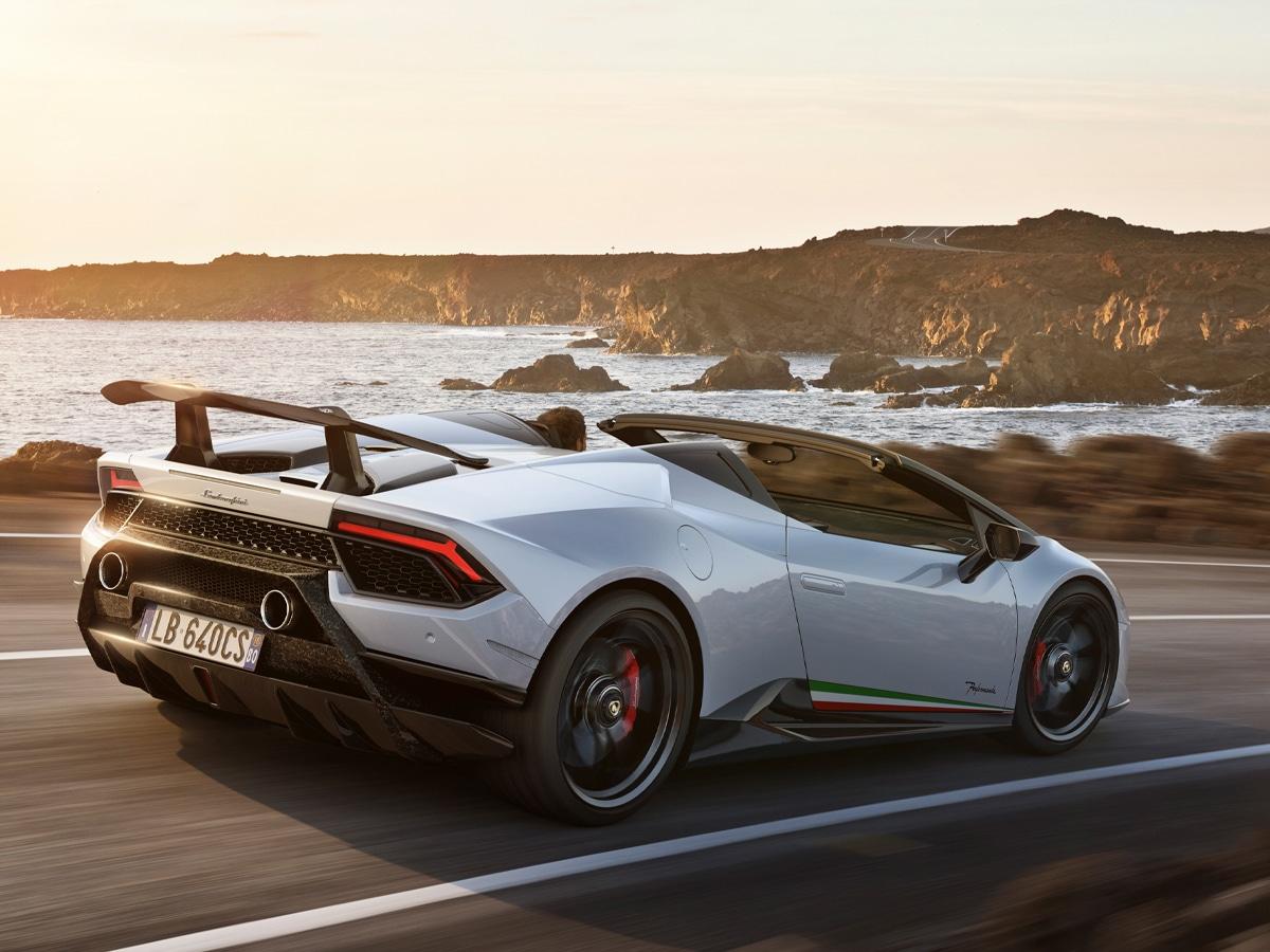 Lamborghini confiscated