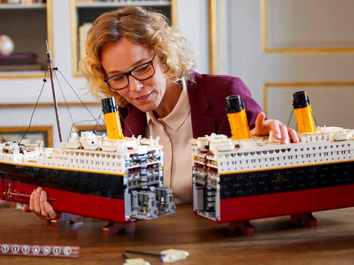Lego titanic 3