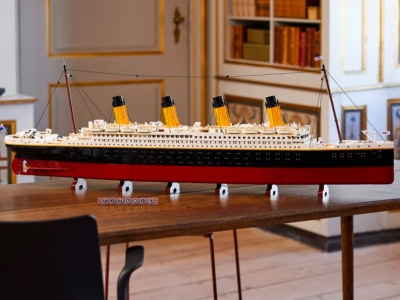 9090-Piece LEGO RMS Titanic is its Largest Set Ever