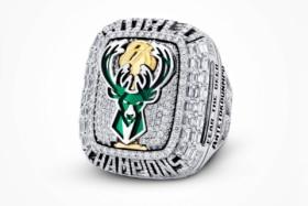 Milwaukee bucks championship ring