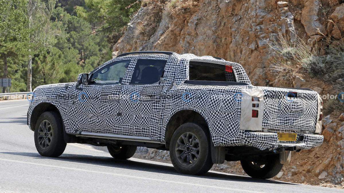 New ford ranger leaks rear