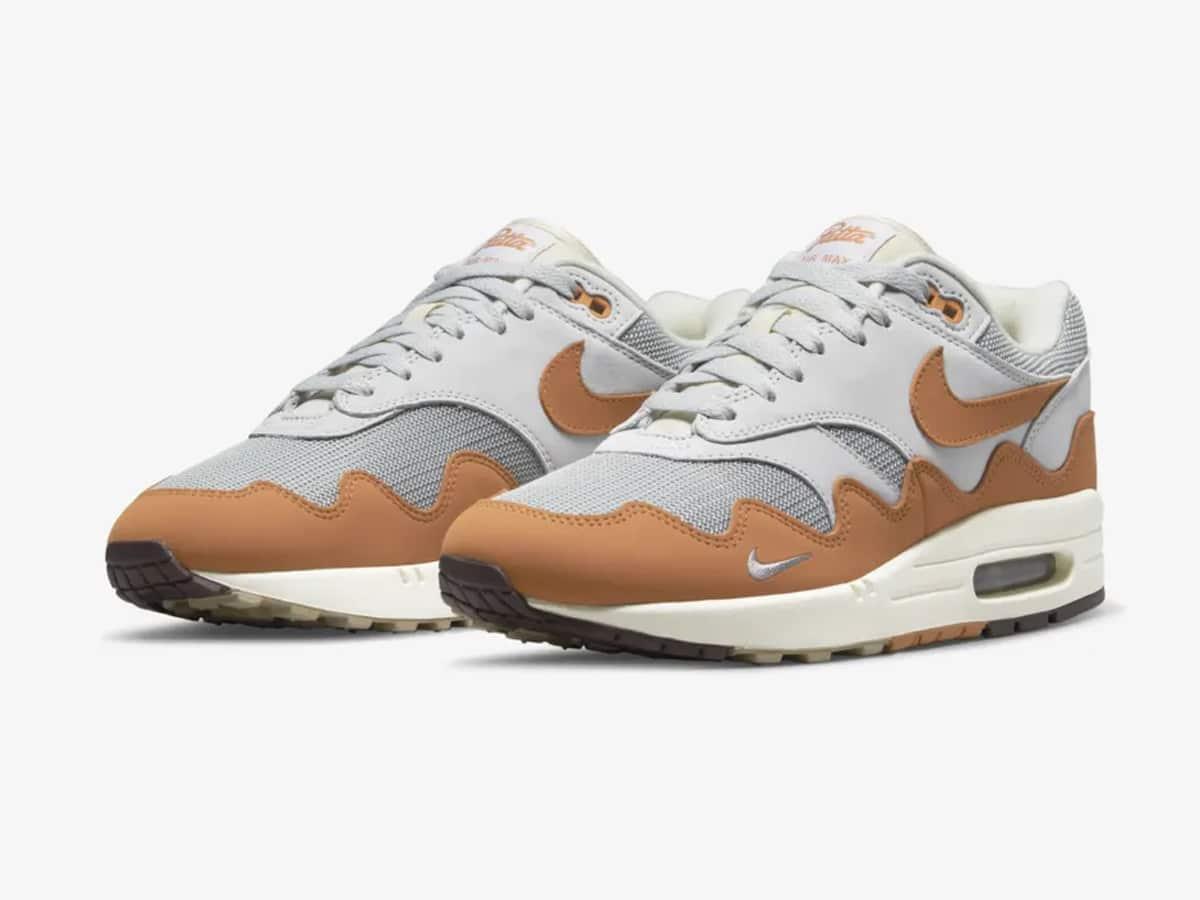 Nike air max 1 x patta monarch