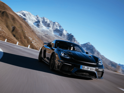 Porsche 718 Cayman GT4 RS Teased as 9000RPM Screamer