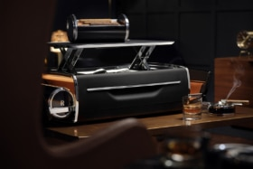 Rolls royce whisky and cigar chest 1