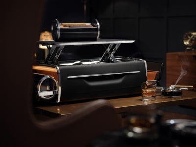 $80,000 Rolls Royce Whisky and Cigar Chest Embodies the Spirit of Ecstacy